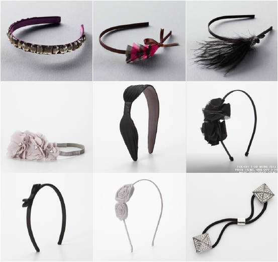 Decorative hair accessories
