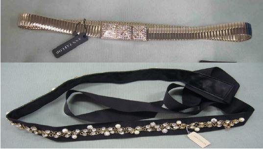 Jewelry belt