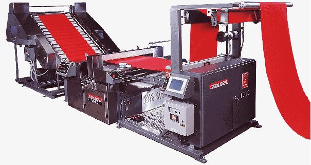 compacting, overfeeding, Sanforising machine