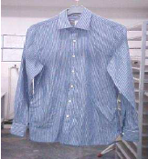 woven top hung dry