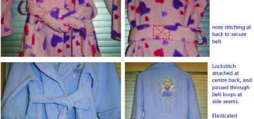childrens bathrobes or dressing gowns
