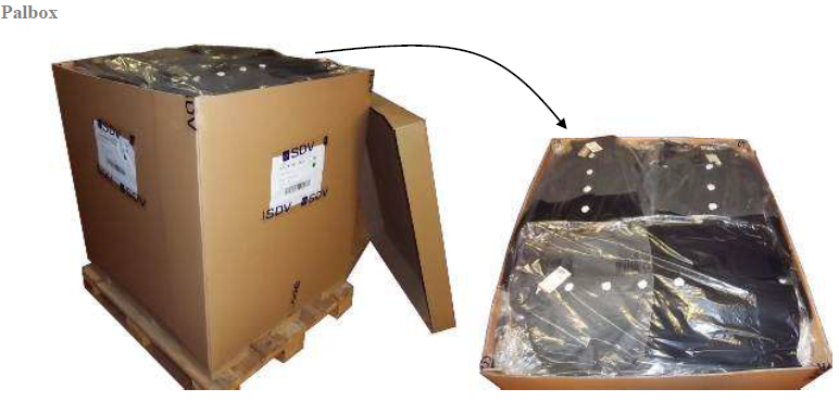 packaging of fragile garment