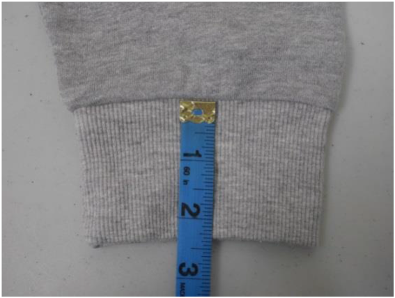 Cuff or Sleeve Hem Height