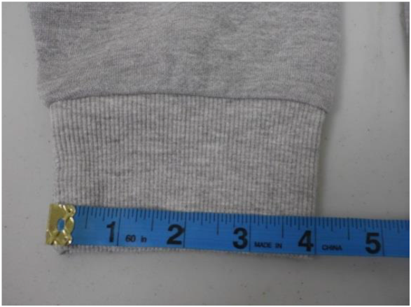 Sleeve or Cuff Opening